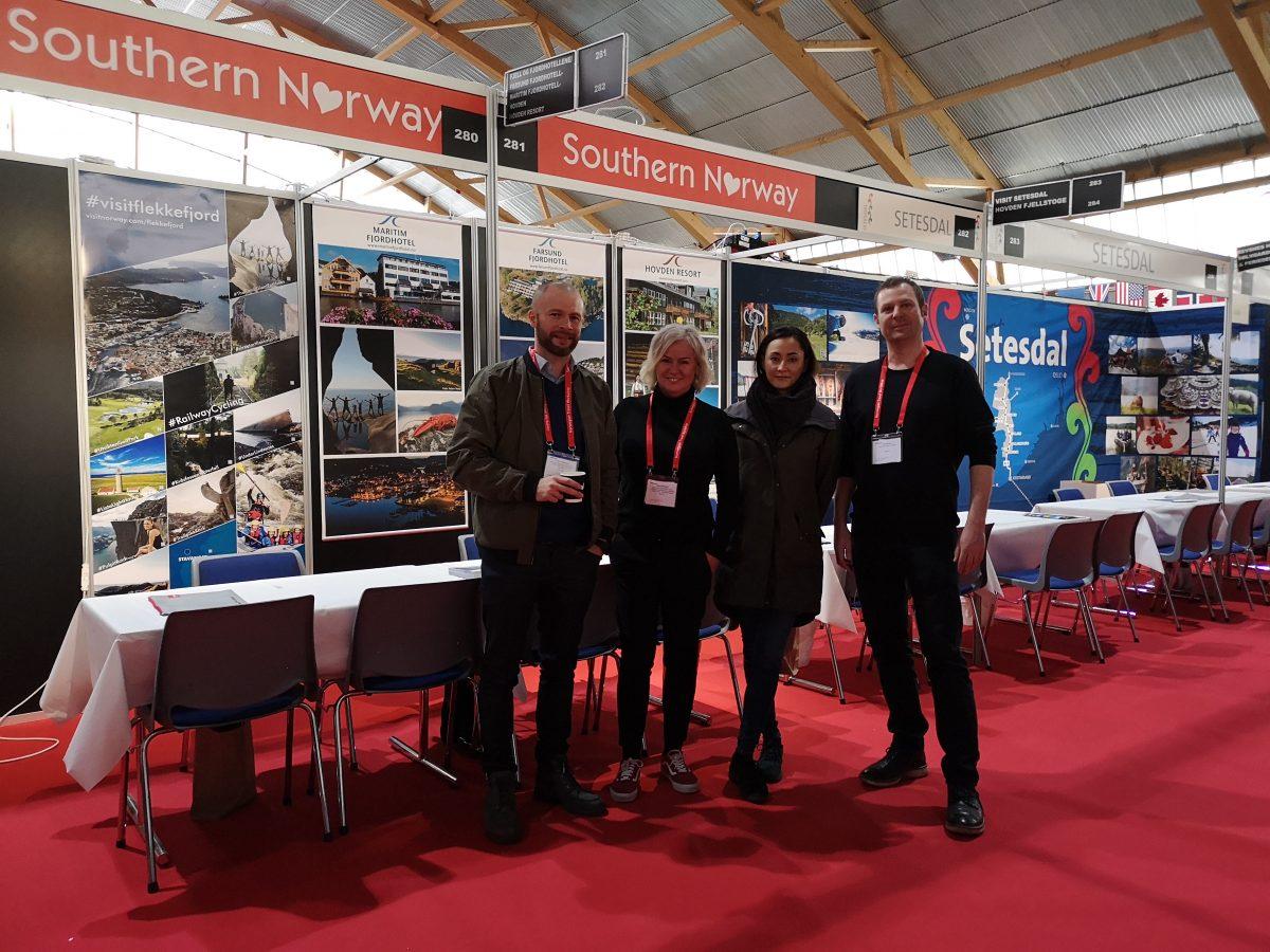Visit Sørlandet under NTW 2019