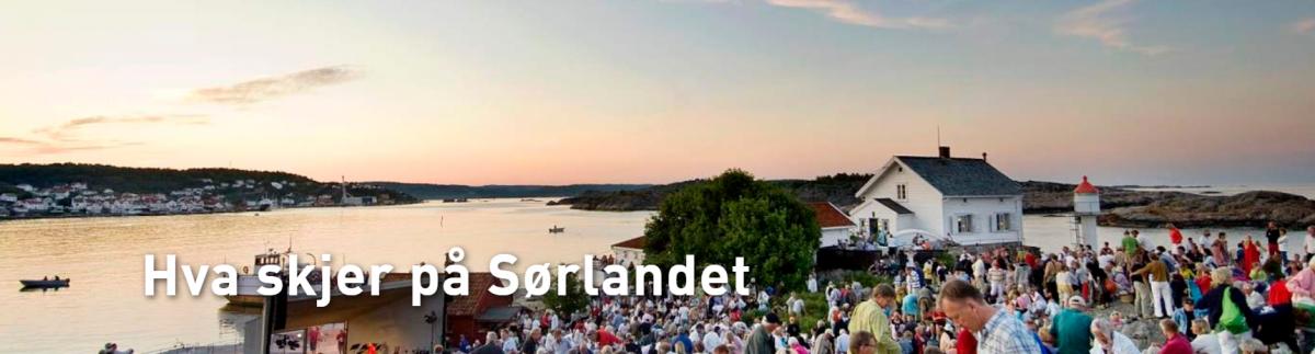 Hva skjer på Sørlandet web