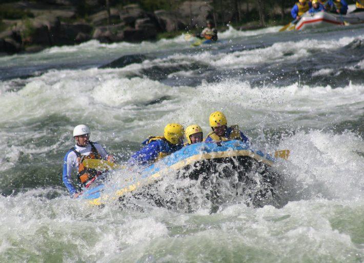 Rafting i Otra med TrollAktiv Evje Foto Tim Davis©TrollAktiv