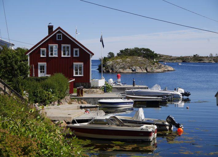 Sandøya ved Tvedestrand Foto: Heidi Sørvig©Visit Sorlandet
