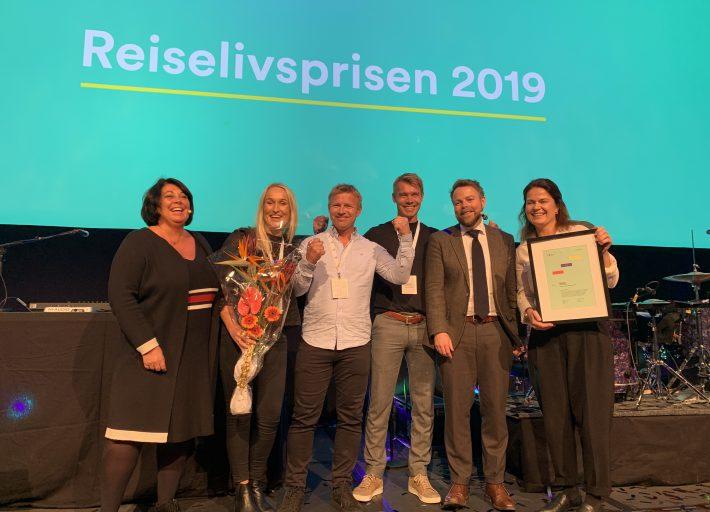 Under vant Reiselivsprisen 2019 fra Innovasjon Norge. Foto Usus AS.