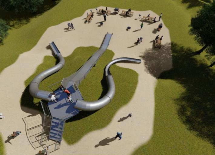 Illustrasjon av nytt aktivitetsområde