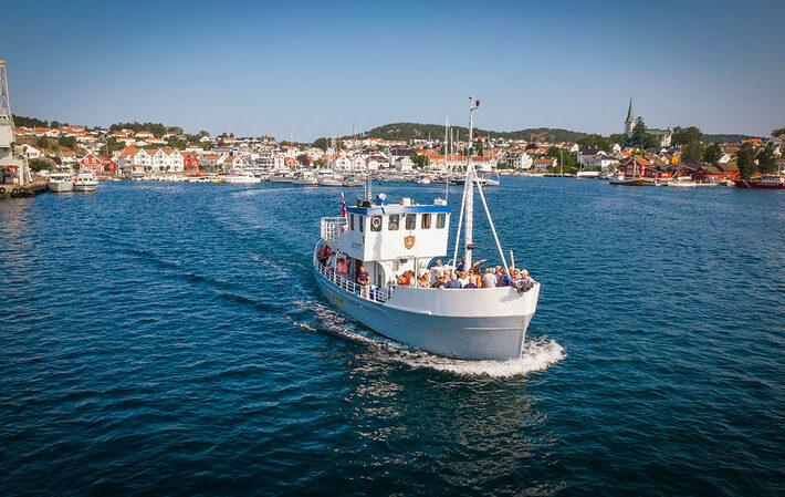 MB Øya Lillesand Foto René Bjerregaard©Visit Sørlandet