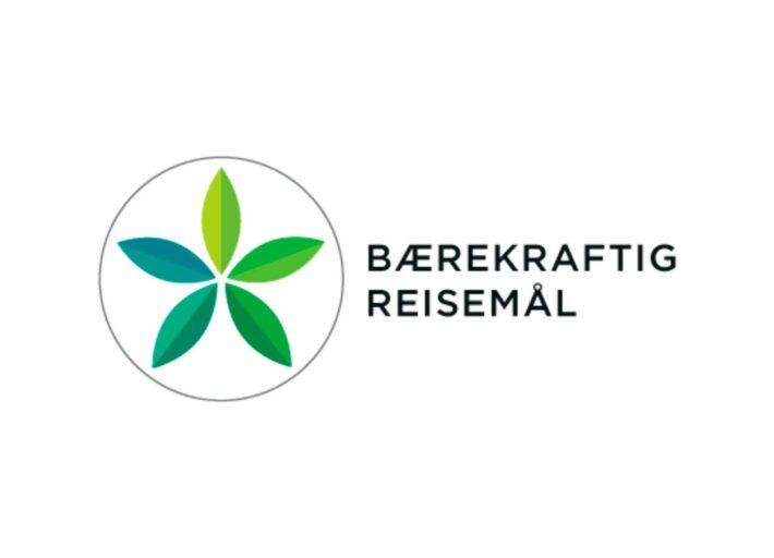 Bærekraftige reisemål - logo