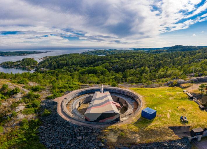 Kristiansand Kanonmuseum Foto: Steinar Furu